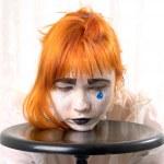 Blue tear — Stock Photo #3484774
