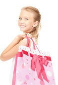 Little shopper — Foto de Stock