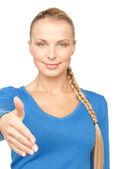 Uścisk dłoni — Zdjęcie stockowe
