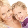 Happy mother and child — Stock Photo