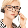 Helpline operator — Stock Photo