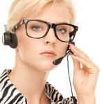 Helpline operator — Stock Photo #4363626