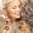 Beautiful woman in fur — Stock Photo #4417585