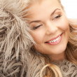 Beautiful woman in fur — Stock Photo #4424398