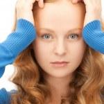 Unhappy woman — Stock Photo #4967341