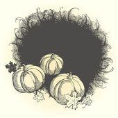 Pumpkins — Vector de stock