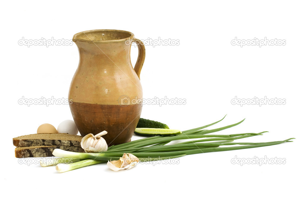 Still life in the rustic style  Stock Photo #3260197