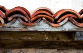 Old Roof Tiles — Stock Photo