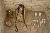 Múmias peruanas — Foto Stock