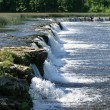 Stock Photo: Waterfall Ventas rumba, Kuldiga, Latvia