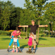 Weekend in roller skates — Stock Photo #3521013