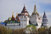 The white castle in Moscow. — Stock Photo