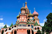 St Basil's Cathedral, Moscow, Russia — Stock Photo