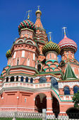 Pokrovsky cathedral in Moscow. — Stock Photo