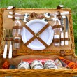 Bbq basket — Stock Photo