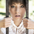Surprised young women - Stockfoto