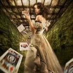 annata femmina — Foto Stock