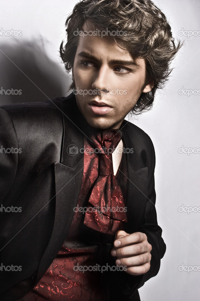 Elegant young man — Stock Photo #3357521