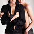 Royalty-Free Stock Photo: Two sensual young women