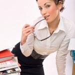 mladá podnikatelka — Stock fotografie