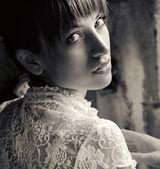 Shot of a nice brunette — Stock Photo