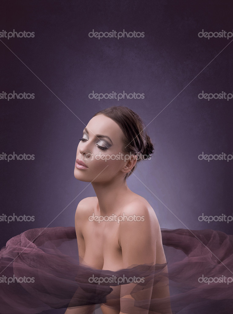 Spa bath of a female beauty  Stock Photo #4293047
