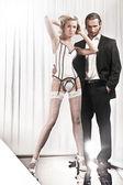 Man and woman — Zdjęcie stockowe