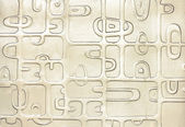 Real glass design pattern — Stock Photo