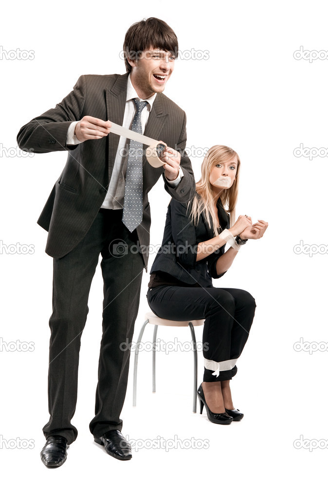 Symbolic photo of relationships in business team   Stock Photo #4500883