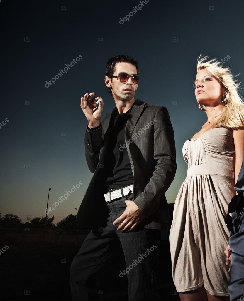 Marriage conflict — Stock Photo #4505646