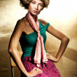 pin-up frau — Stockfoto