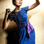 Foto de moda estilo de belleza rubia — Foto de Stock