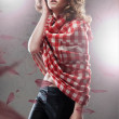Fine art portrait of a young woman — Stock Photo #4524356