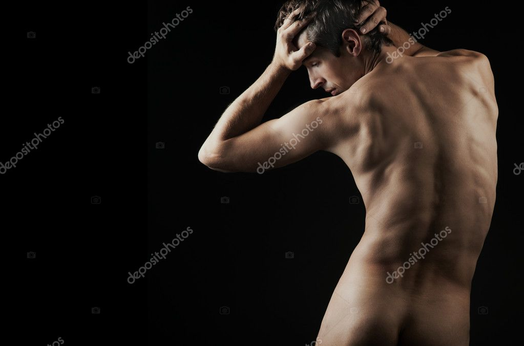 Male fashion shot, muscular guy  — Foto Stock #4581401