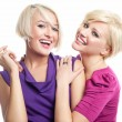 Two young girls fiends — Stock Photo #4597099