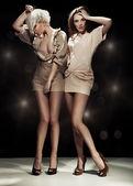 Duas mulher sexy — Foto Stock