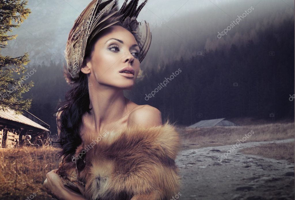 Portrait of a beautiful woman   Stock Photo #4597005