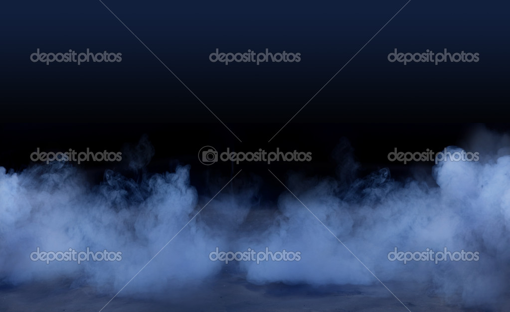 Studio background with smoky effect  — Stock Photo #4597260