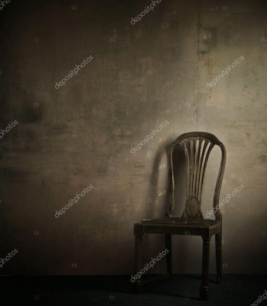 Real photo of classic armchair — Stock Photo #4750503