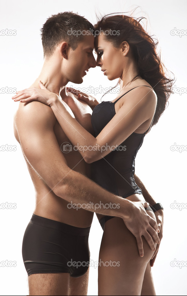 sexual nude couple poses