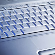 Royalty-Free Stock Photo: Laptop\'s keyboard