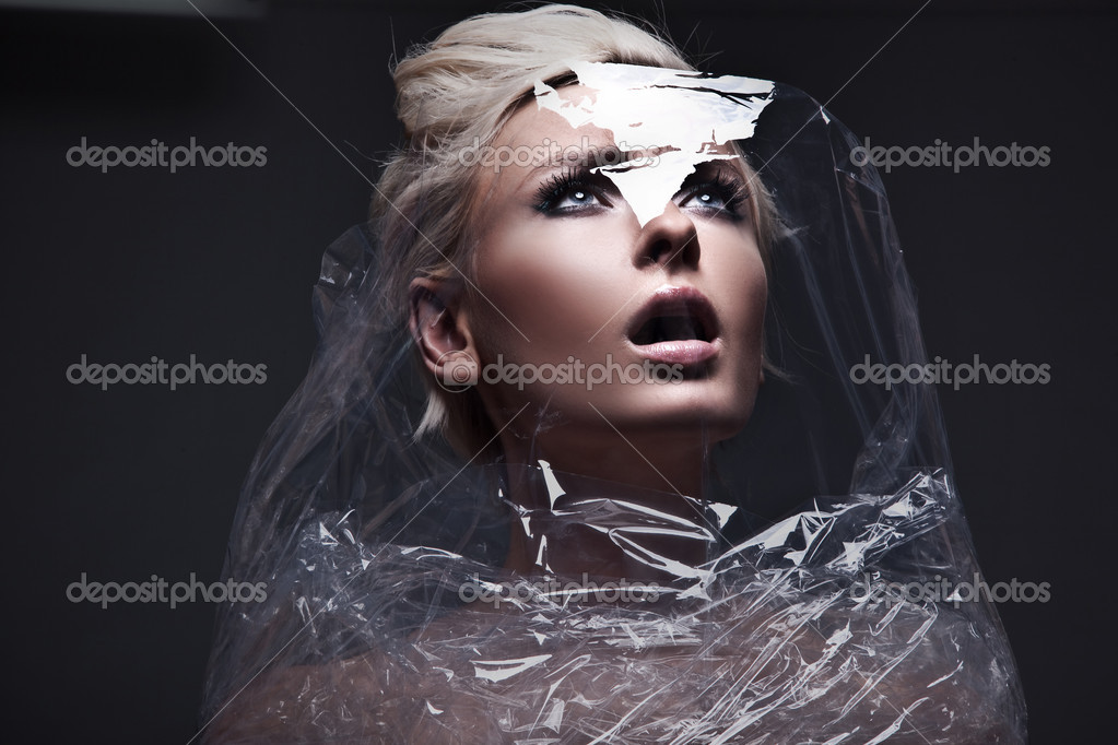 Photo of a future woman — Stock Photo #5191251