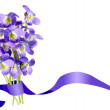 Stock Photo: Bouquet of viola