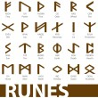 Complete set of runes vector illustration — Stock Vector #3266837