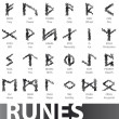 Complete set of runes vector illustration — Stock Vector #3270757