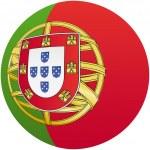 portugal kennzeichnungssymbol, mit offiziellen färbung — Stockvektor