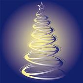 Trees Christmas Xmas vector illustration — Stock Vector
