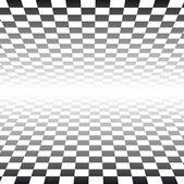 Checker Board Pattern Background - vector illustration — Stock Vector