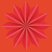 Background Star Op art vector illustration abstract — Stock Vector