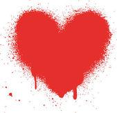 Herz vector illustration symbole symbole valentinstag — Stockvektor
